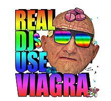 Real Djs Use Viagra Photographic Print