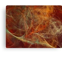 Abstract texture in autumn tones Canvas Print