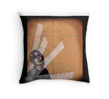 i like bikes Throw Pillow