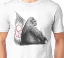 Peace Gorilla Unisex T-Shirt