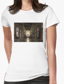 Cathedral of Syracuse - Duomo di Siracusa - an Ancient 2500 Years Old Greek Temple Womens Fitted T-Shirt