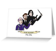 Rickman Greeting Card