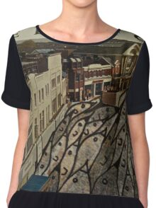 pod birds Women's Chiffon Top