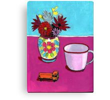Wee Truck Canvas Print