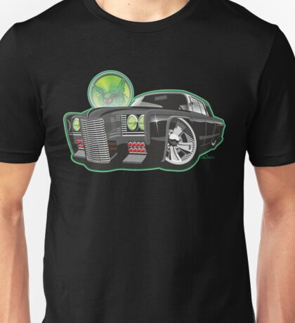 Green Hornet Black Beauty caricature Unisex T-Shirt