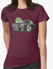 Green Hornet Black Beauty caricature Womens Fitted T-Shirt