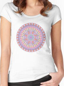 Galactic Alignment Women's Fitted Scoop T-Shirt