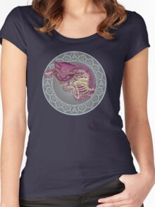 The Cheshire Cat  Women's Fitted Scoop T-Shirt