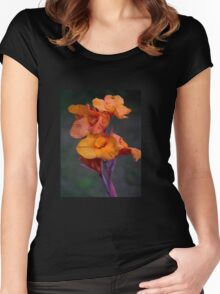 Canna Lily Women's Fitted Scoop T-Shirt