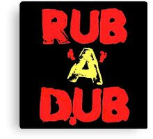 Rub A Dub Canvas Print