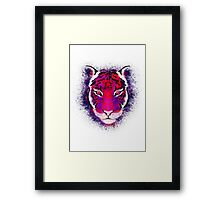 Berry Tiger Framed Print