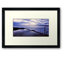 Sawtell Rock Pool Framed Print