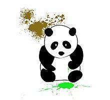 SNEEZING PANDA Photographic Print