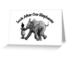 Look After... Greeting Card