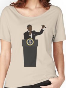 OBAMA OUT Women's Relaxed Fit T-Shirt