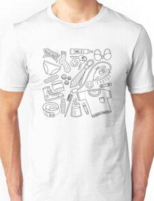 get ready (b&w) Unisex T-Shirt