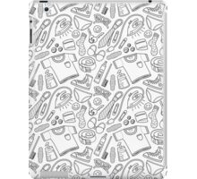 get ready (b&w) iPad Case/Skin