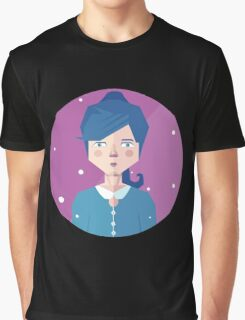 Violet Girl Graphic T-Shirt