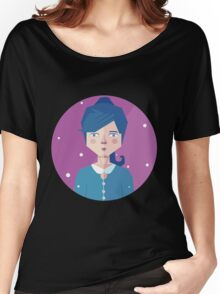 Violet Girl Women's Relaxed Fit T-Shirt
