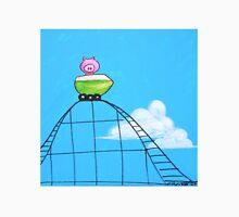 Splatter Roller Coaster Pig Unisex T-Shirt