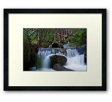 Thredbo Falls Framed Print