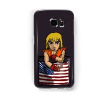 Street Fighter Pocket Pals - #2 Ken Samsung Galaxy Case/Skin