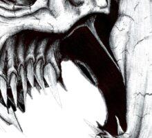 Skull Artwork Sticker