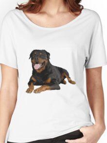 Rottweiler Portrait Women's Relaxed Fit T-Shirt