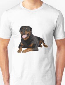 Rottweiler Portrait Unisex T-Shirt