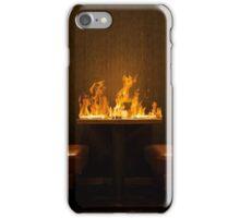 BURNING TABLE iPhone Case/Skin