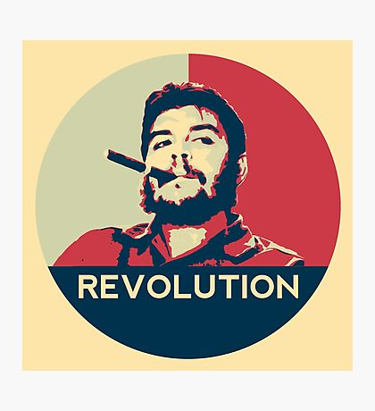 Che Guevara Hope Poster Photographic Print