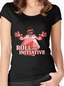 Roll for Initiative Women's Fitted Scoop T-Shirt