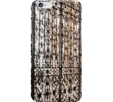 Intricate Ironwork - Lacy Wrought Iron Gates iPhone Case/Skin