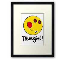 jeffda 005 true girl! Framed Print