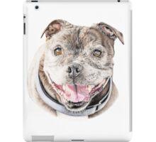 Freddie- Staffordshire Bull Terrier iPad Case/Skin