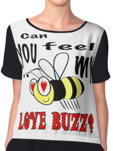 Love Buzz Chiffon Top