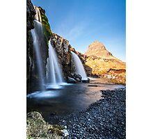 Kirkjufellsfoss Photographic Print