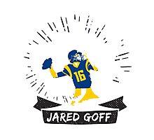 Jared Goff rams Photographic Print