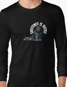 Futile Cat Long Sleeve T-Shirt