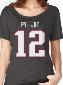 IDEAL GAS LAW - TOM BRADY, PATRIOTS, DEFLATEGATE (Blue) Women's Relaxed Fit T-Shirt