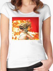 Mata Hari Women's Fitted Scoop T-Shirt