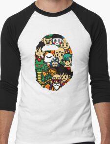 APE X DRAGON BALL Men's Baseball ¾ T-Shirt