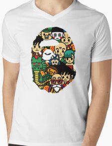 APE X DRAGON BALL Mens V-Neck T-Shirt