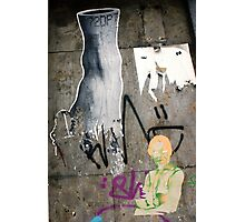 Street and Wall Arts in Germany, Graffiti  Photographic Print