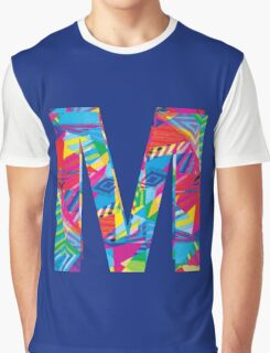 Fun Letter - M Graphic T-Shirt