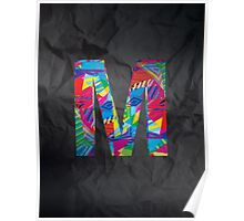 Fun Letter - M Poster