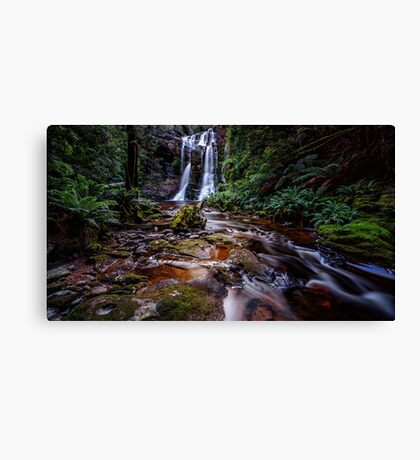 The Falls in Rainforest Canvas Print