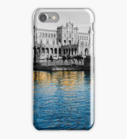Reflections of Seville - Plaza de Espana  iPhone Case/Skin