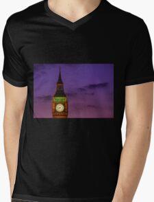 Palace of Westminster Mens V-Neck T-Shirt