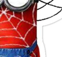 Spider man minions Sticker